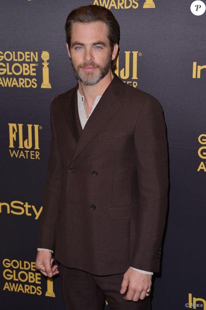 Chris Pine lors de la soirée Hollywood Foreign Press ...