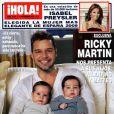 Ricky Martin vous présente ses jumeaux !