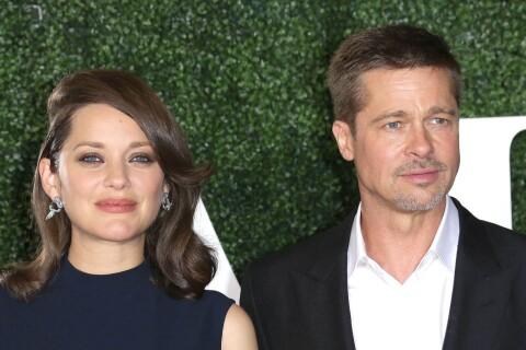 """Marion Cotillard admirative de Brad Pitt : """"Il vit les choses dans le moment"""""""