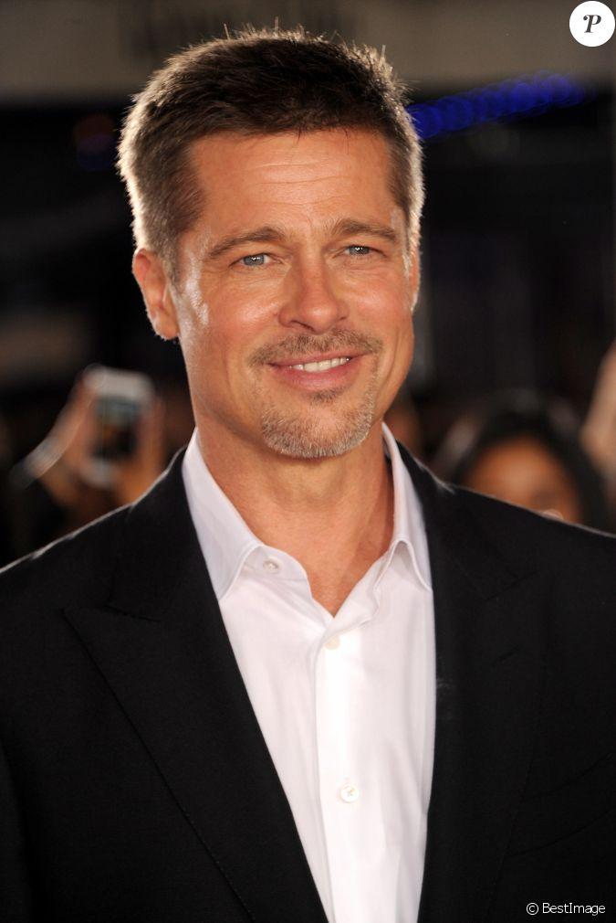 Brad Pitt lors de la p...