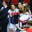 Finale de la Fed Cup à Strasbourg, le 12 novembre 2016.