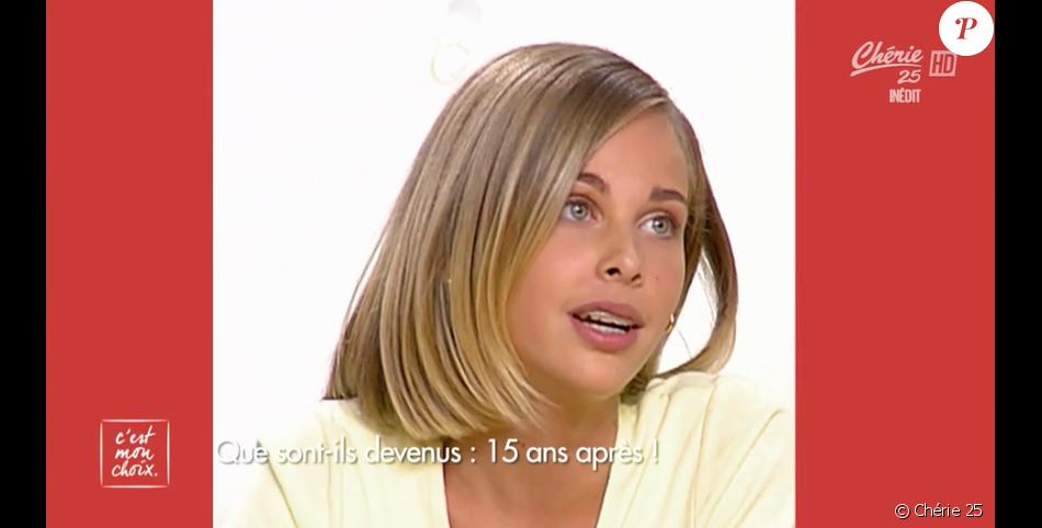 """Ophélie Meunier à l'âge de 12 ans dans """"C'est mon choix"""" sur France 3. Des images dévoilées le 11 novembre 2016 sur Chérie 25."""