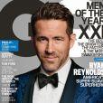 Ryan Reynolds en couverture du GQ de Décembre 2016.