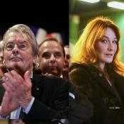 Carla Bruni, fidèle à Nicolas Sarkozy : Alain Delon préfère Alain Juppé