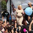 Amber Rose et Blac Chyna à la Slut Walk 2016. Los Angeles, le 1er octobre 2016.