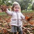La princesse Leonore de Suede fêtait début octobre l'arrivée de l'automne avec cette photo publiée sur Facebook par la princesse Madeleine.