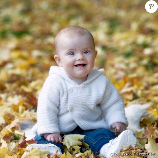 La princesse Estelle de Suède photographiée par Kate Gabor à l'automne 2012.