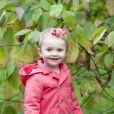 La princesse Estelle de Suède, fille de la princesse Victoria et du prince Daniel, photographiée par Kate Gabor à l'automne 2013. © Kate Gabor / Kungahuset (Cour royale de Suède)