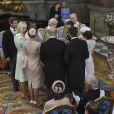 Photo officielle du baptême du prince Oscar de Suède, fils de la princesse Victoria et du prince Daniel, par Kate Gabor le 27 mai 2016. © Jonas Ekströmer, TT / Kungahuset (Cour royale de Suède)