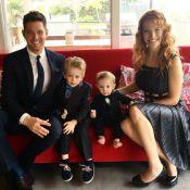 Michael Bublé : En chimio, son fils Noah retrouve le sourire, gâté par sa soeur