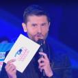 """""""Secret Story 10"""", la finale, le 17 novembre 2016 sur NT1. ici Christophe Beaugrand."""