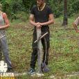 """Ludivine, Freddy, Stéphane - """"Koh-Lanta, L'île au trésor"""", le 18 novembre 2016 sur TF1."""