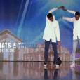 """Bats & Taylor dans """"Incroyable Talent"""" le 22 novembre 2016 sur M6."""