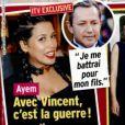 Vincent Miclet annonce qu'Ayem Nour et lui sont séparés dans le nouveau numéro du magazine Public, en date du 18 novembre 2016.