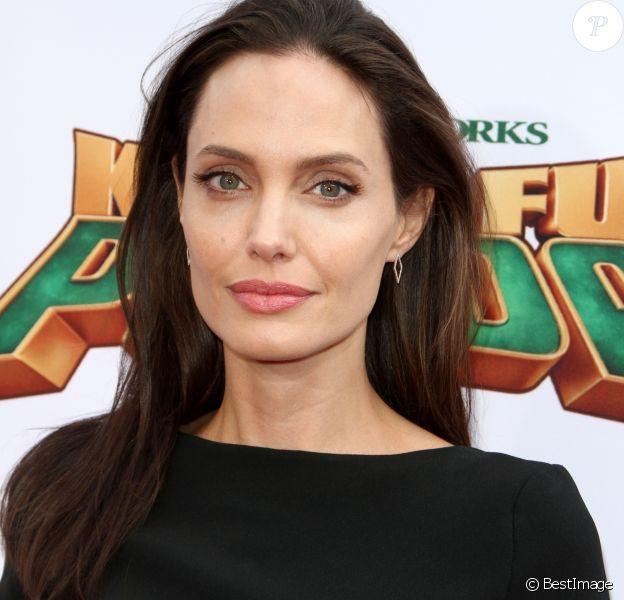 """Angelina Jolie - Célébrités lors la première de Kung Fu Panda 3 au théâtre """"TCL Chinese"""" de Hollywood le 16 janvier 2016."""