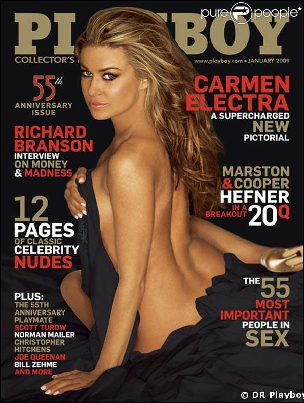 Carmen Electra pour Playboy