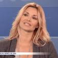 """Ingrid Chauvin évoque la mort de sa fille et la naissance de son fils dans """"Les Dossiers de Téva"""", le 19 novembre 2016 sur la chaîne Téva."""