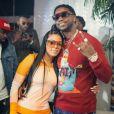 Photo de Gucci Mane et Keyshia Ka'oir. Novembre 2016.