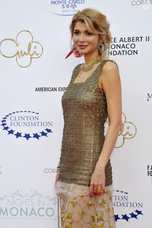 Gulnara Karimova au gala de la fondation Nights in Monaco, le 23 mai 2012