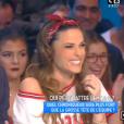 """""""Echange tendu entre Capucine Anav et Matthieu Delormeau dans """"Touche pas à mon poste"""" le 22 novembre 2016."""""""