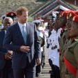 Le prince Harry arrive à Kingstown - Le prince Harry en visite sur l'île de Saint-Vincent-et-les-Grenadines à l'occasion de son voyage officiel de 15 jours dans les Caraïbes le 26 novembre 2016