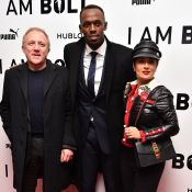 Salma Hayek lookée, Geri Halliwell enceinte... Usain Bolt bien entouré !