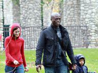 PHOTOS : Seal, un papa heureux avec ses deux adorables fils... même sous la pluie !