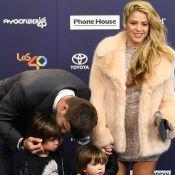 Shakira sexy et scintillante : La chanteuse sacrée en présence de ses hommes