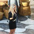 """La chanteuse Shakira en tournage pour une publicité """"Costa Croisières"""" à Barcelone le 30 novembre 2016."""