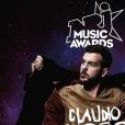 """Claudio Capélo, nommé dans la catégorie """"Révélation francophone de l'année aux NRJ Music Awards 2016""""."""