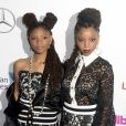 Chloe Bailey et sa soeur Halle Bailey à la soirée 2016 Billboard Women à New York, le 9 décembre 2016 © Future-Image via Zuma/Bestimage