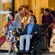 Exclusif - Emilia Clarke, Sam Claflin et Matthew Lewis sur le tournage du film «Me Before You» sur la plage de Formentor à Mallorque, le 10 juin 2015