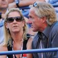 Chris Evert et son mari