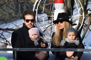 Michelle Hunziker : Week-end festif avec son mari et leurs deux filles