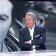 Alain Delon sur le plateau du journal télévisé de France 2 le 11 décembre 2016