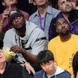 Lamar Odom et Kanye West à Los Angeles le 13 avril 2016.