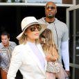 Khloé Kardashian et Lamar Odom à Los Angeles, le 27 mars 2016.