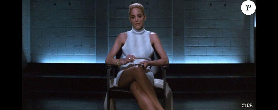 La fameuse séquence de l'entrejambe signée Sharon Stone dans Basic Instinct.