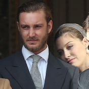 Pierre et Andrea Casiraghi en deuil avec la princesse Caroline...