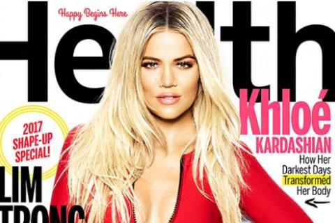 """Khloé Kardashian : """"Toute ma vie, j'ai eu des problèmes avec la bouffe"""""""