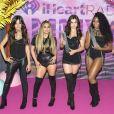 """Camila Cabello, Ally Brook, Lauren Jauregui, Normani Hamilton et Dinah-Jane Hansen du groupe Fifth Harmony dans les studios """"MuchMusic"""" à Toronto. Le 19 juin 2016 © Angel Marchini / Zuma Press / Bestimage"""