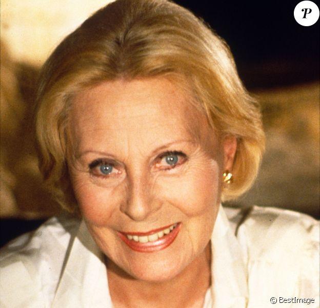 Archives - Michèle Morgan en 1985