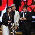 Anna Kendrick, Adam DeVine et Zac Efron aux Spike TV's Guys Choice Awards 2016 à Los Angeles. Le 4 juin 2016.