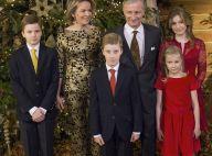 Philippe et Mathilde de Belgique : Au concert de Noël avec leurs enfants