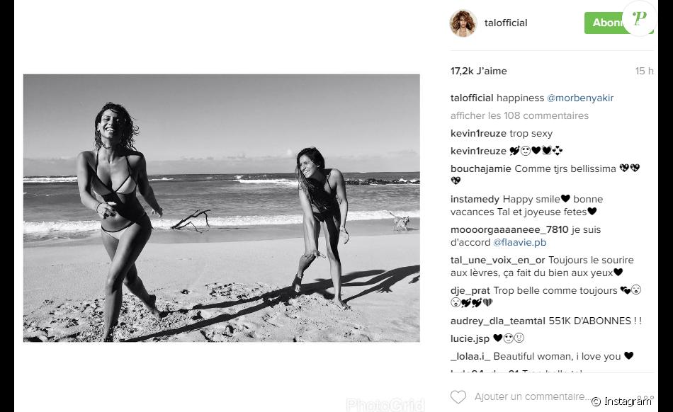 Tal en vacances à Hawaï. Photo postée sur Instagram le 22 décembre 2016.