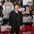Nick Lachey lors de la soirée des MTV Movie Awards 2014 à Los Angeles, le 13 Avril 2014.