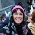 La condamnation de Jacqueline Sauvage à dix ans de réclusion criminelle en décembre 2015 pour le meurtre de son mari violent et abusif avait suscité une forte mobilisation populaire, notamment une manifestation à laquelle participaient plusieurs personnalités dont l'actrice Anny Duperey (photo), le 23 janvier 2016, appelant le président François Hollande à intervenir.
