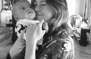 Ellen Pompeo, maman, partage une tendre vidéo avec son bébé pour le Nouvel An