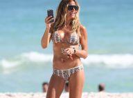 Kelly Bensimon : 48 ans et une plastique de rêve, dévoilée à la plage