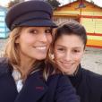"""""""Laury Thilleman pose avec son petit frère Hugo. Photo postée sur Instagram en décembre 2016."""""""